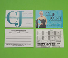 Picture of Hair Stylist's Appointmant cards