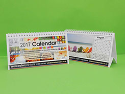 Image of 2 Desk Calendars Tent Style