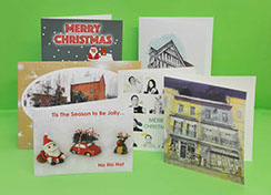 Image of various Greetings Cards