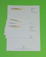 Image of printed Letterhead and Compliment Slips